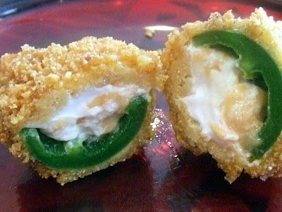 Jalapeno Poppers- Gluten free and vegan!!!  I tried these for our Superbowl party and they were a HUGE hit!!!