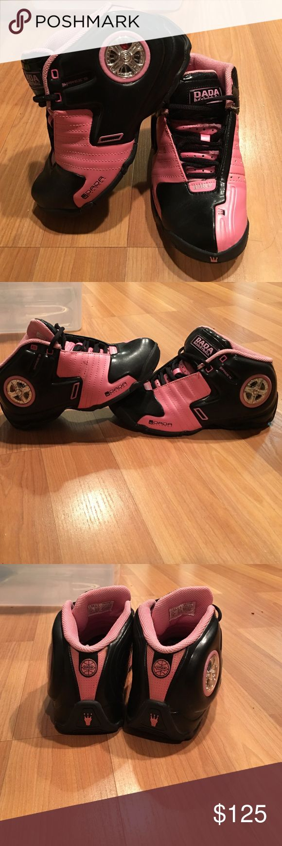 Dads spinning rims 6.5 Dads spinning rim as you walk sneakers limited edition women's 6.5 dada Shoes Sneakers