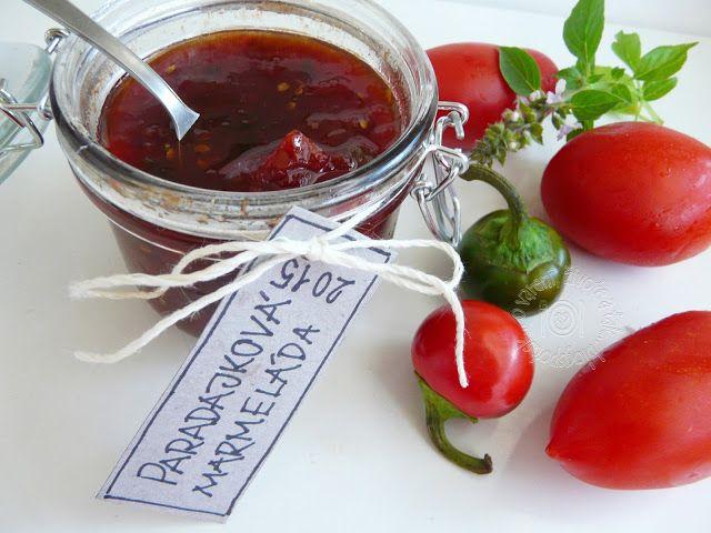 Paradajková marmeláda