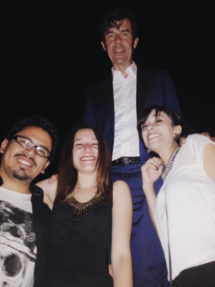 And we made Stephan Sagmeister a bit happier too (: #SagmeisterInRome #RoadtoCreativity
