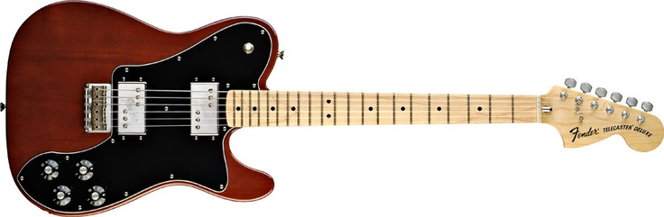 Classic Series '72 Telecaster® Deluxe- My go to electric. It does everything I need it to do.