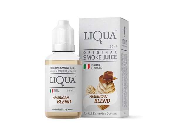 Liqua Smoke Juice - American Blend 30ml