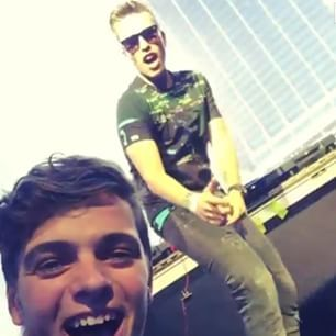 Martin Garrix and Nicky Romero