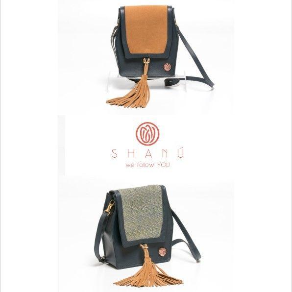 Den nydelig og praktisk veske i svart skinn gir deg ulike stil med en veske. Europeisk design håndlaget med eksklusive stoffer.