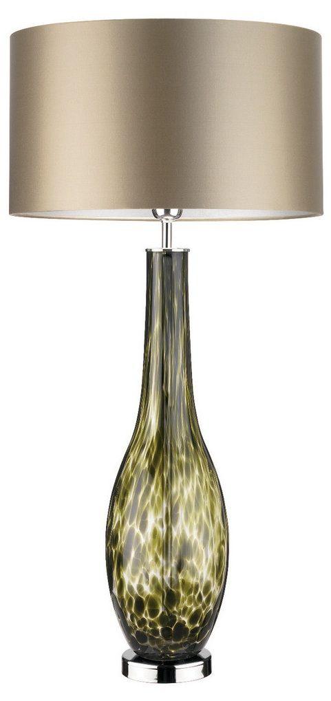 Table Lamps Designer Green Tortoiseshell Art Glass Lamp So Beautiful One Of