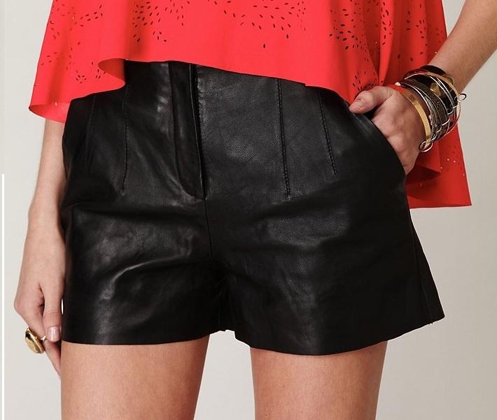 leather shorts: Leather Shorts, Muubaa Shorts, Eye Shorts, Summer Shorts