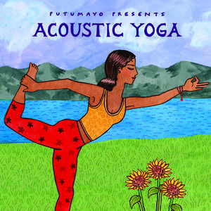 Acoustic #Yoga CD by #Putumayo World Music. A peaceful musical journey that will soothe your mind and ease your soul. It's far more low-key than most Putumayo CDs, and it really is wonderful for your yoga practice or just to listen to. $13.95