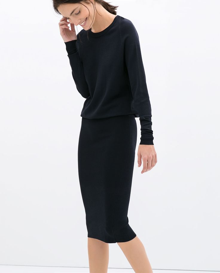 DRESS WITH PENCIL SKIRT - Dresses - WOMAN | ZARA United States