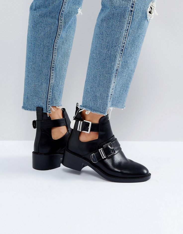 Buy Black Pimkie Buckle boots for woman at best price. Compare Boots prices  from online stores like Asos - Wossel Global