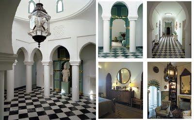 IVAN TERESTCHENKO Villa Mabrouka Tangier, Yves Saint Laurent ...