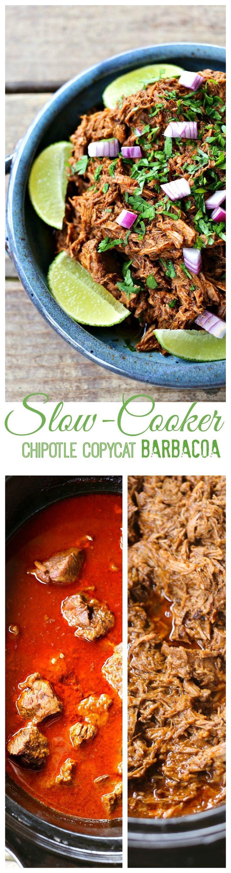 Crockpot Chipotle Copycat Barbacoa