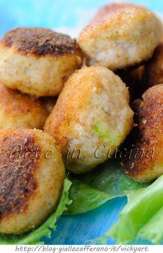 Polpette di pollo e zucchine ricetta veloce vickyart arte in cucina