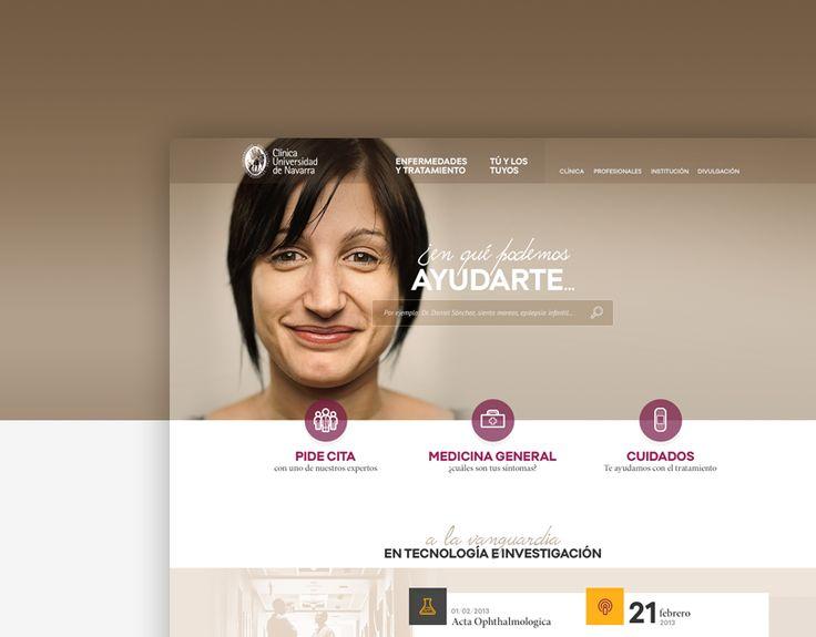 """查看此 @Behance 项目:""""Clínica Universidad de Navarra""""https://www.behance.net/gallery/13257019/Clinica-Universidad-de-Navarra"""