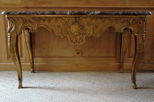 Table à gibier d'époque du XVIIIème siècle