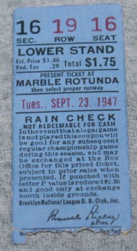 SEPTEMBER-23-1947-JACKIE-ROBINSON-DAY-BROOKLYN-DODGERS-NY-GIANTS-TICKET-STUB-16