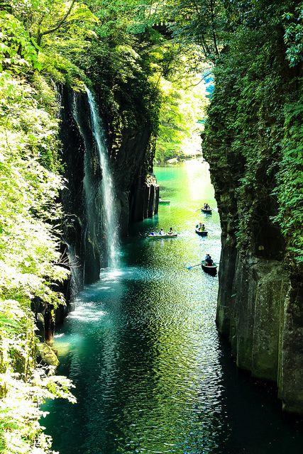 高千穂峡 Takachiho Gorge