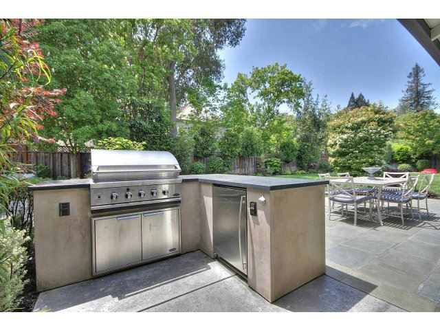 Large Backyard With Outdoor BBQ Area
