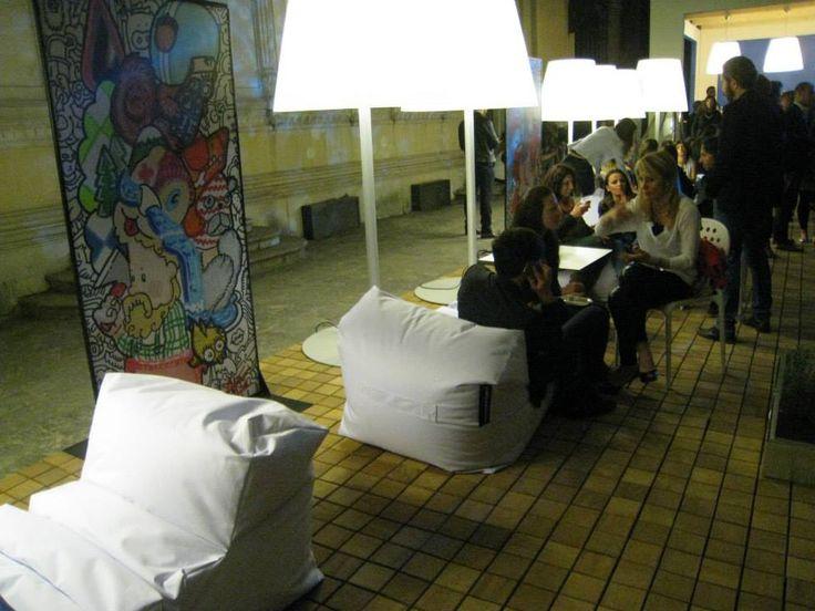 poofomania#Milano#aquae munti#ddn#bean bag#outdoor#