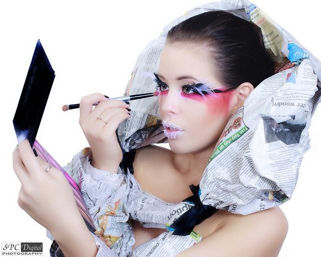 Sunday Newspaper High Fashion Shoot by SPC Digital Photo, via Flickr