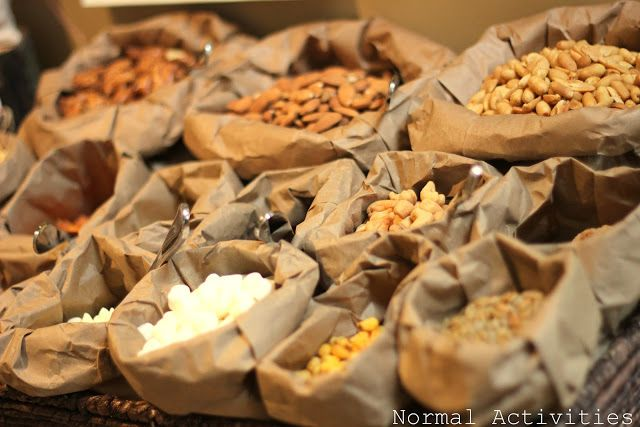 trail mix favors: o deer! baby shower
