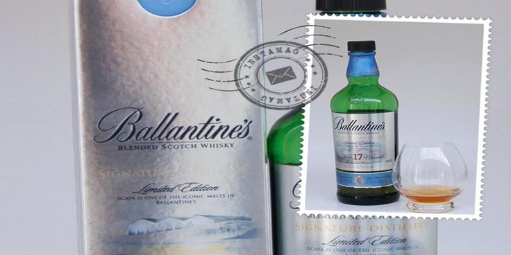 Ballantine's Distillery Edition 17 yo Scapa #tastingnotes #ballantines #Scapa #whisky #blended #whiskyoftheweek
