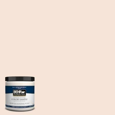 BEHR Premium Plus Home Decorators Collection 8 oz. #HDC-CT-12 Peach Rose Zero VOC Interior/Exterior Paint Sample-PP10016 - The Home Depot
