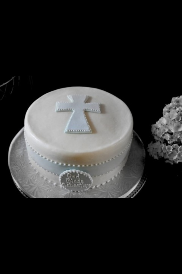 Baptism cake, love this one
