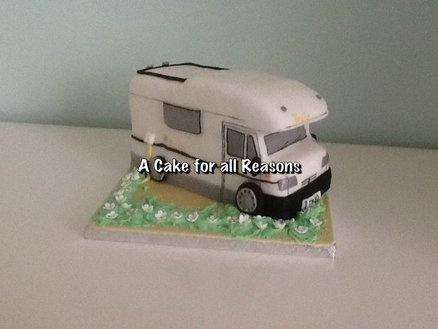 Motor home  Cake by DawnE