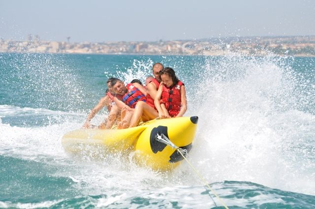 Banana Boat Ride - Tanjung Benoa Beach Water Sports