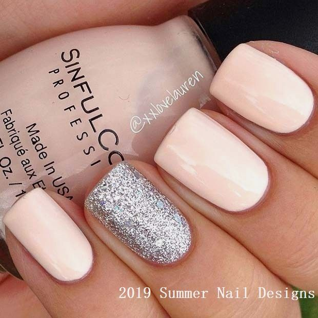 33 Cute Summer Nail Design Ideas 2019 #n…