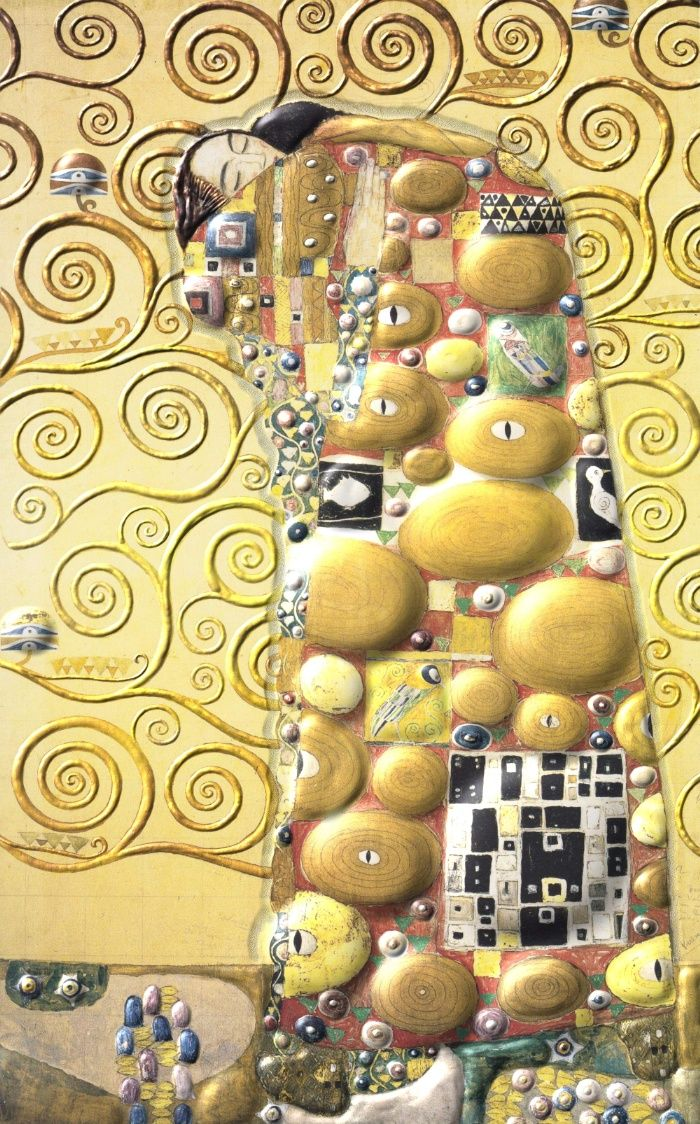 My Klimt- Embrace Art Print