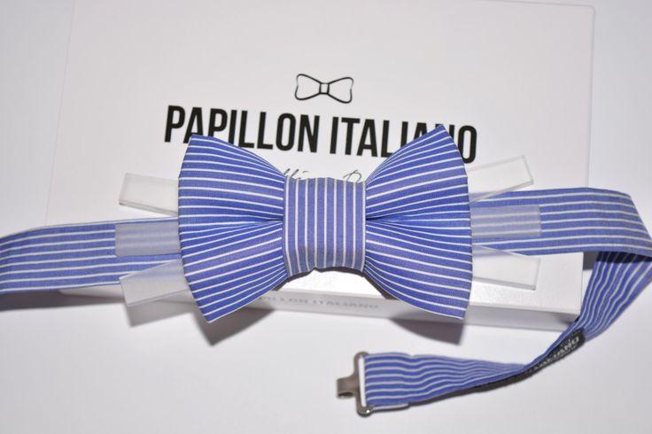 di PapillonItaliano su Etsy  Papillon Italiano HandMade Celeste Rigato con inserto in Plexiglass - Shop Online  #papillonitaliano #papillon #bowtie #handmade #madeinitaly #love #artigianale #sartoriale #accessory #uomo #donna #style #outfit #fashionblogger #man #men #woman #moda #fashion #style #shopping #shoponline #italianstyle #plexiglass #etsy