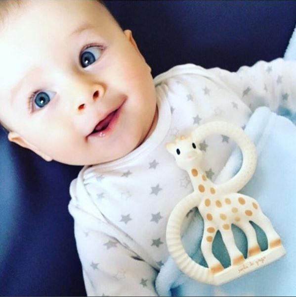 Sophie the Girafe makes us really happy!! We take her everywhere we go!