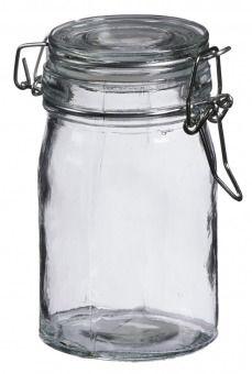Vorratsglas mit Bügelverschluss, 250 ml - Vorratsglas mit Bügelverschluss. Ideal zum Dekorieren und Aufbewahren.Material: Glas