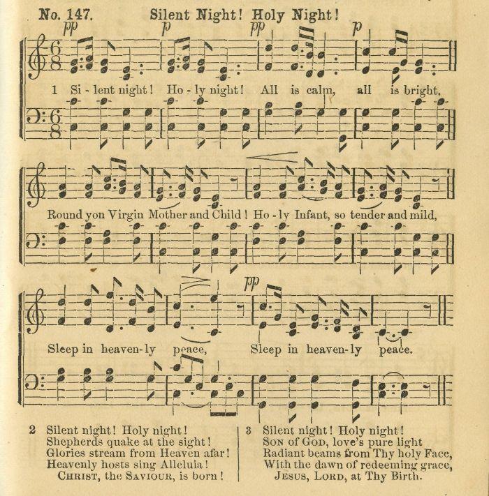 ... Sheet Music | Christmas music | Pinterest | Silent Night, Sheet Music