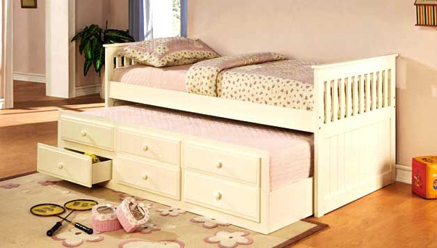 Space Saving Guest Beds With Storage Trundle Beds Wall