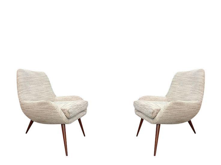 Par de sillas. 1950 Pair chairs. 1950 www.dessvan.com #dessvan #furniture #bogotafurniture #mobiliario #colombia