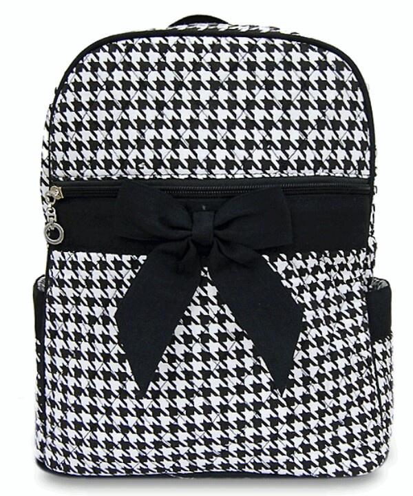 Hand bag -ehoundstooth.com