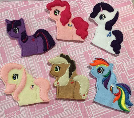 Pony Friends Finger Puppets Set