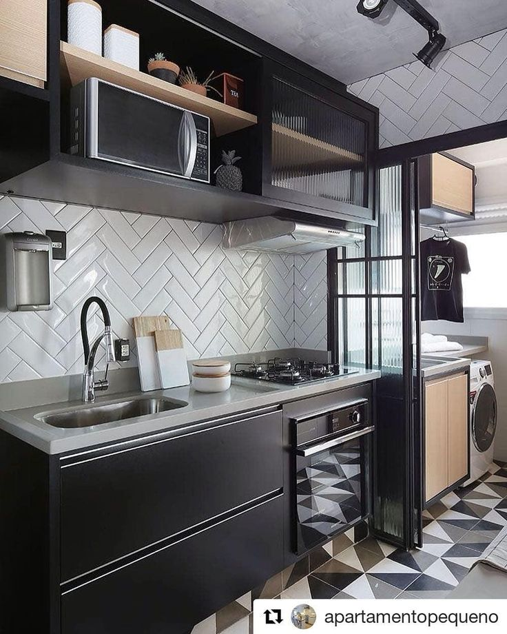 44 Beautiful, Efficient Small Kitchen Designs You'll Wish