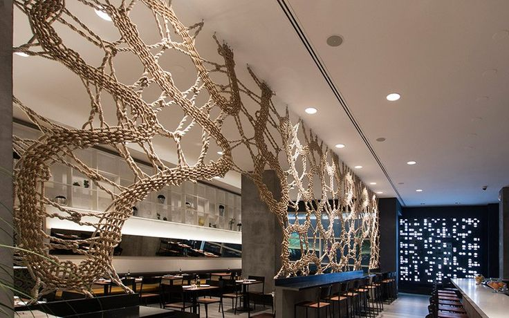 ma_070215_02 Mantzalin design a rope screen for Stix restaurant in Chelsea, NY