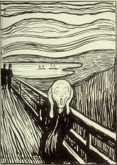 Edvard Munch: The Scream (1984.1203.1) | Heilbrunn Timeline of Art History | The Metropolitan Museum of Art