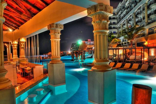 Night Cancun Mexico
