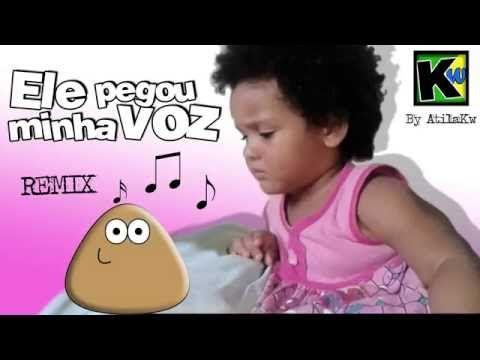 ELE PEGOU A MINHA VOZ REMIX | MENINA DISCUTINDO COM POU - YouTube