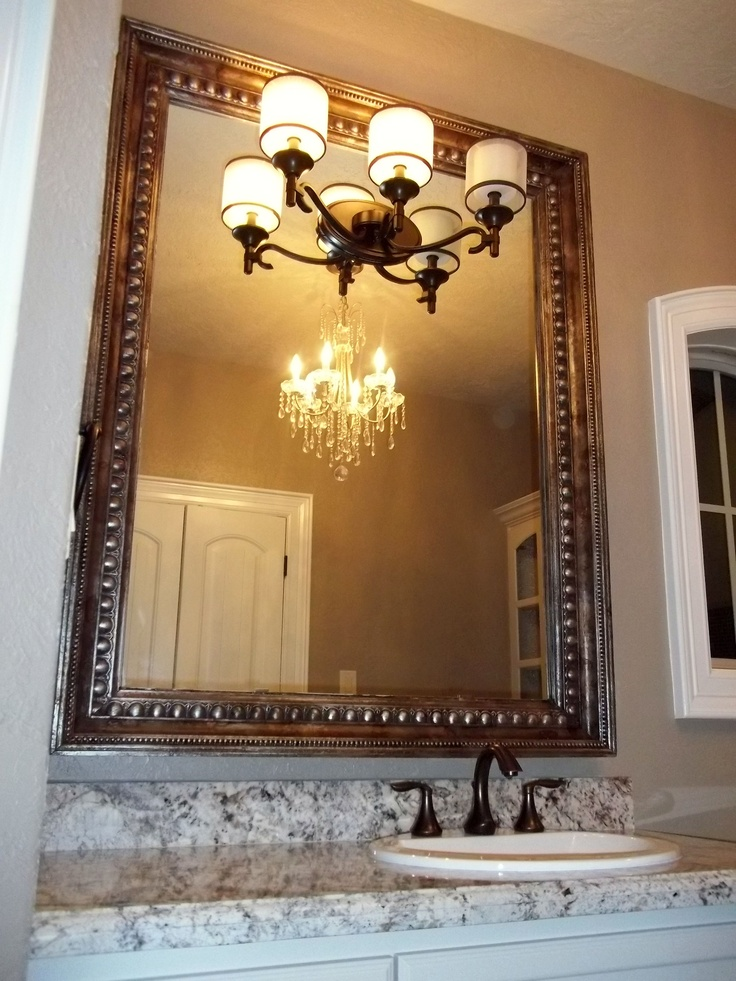 Best 25 Crown Molding Mirror Ideas On Pinterest Half Bathroom Remodel Wainscoting Bathroom
