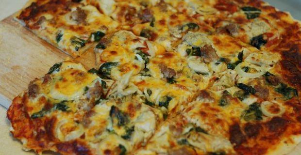 Zelf diepvriespizza maken