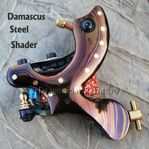 Custom Handmade Damascus Steel Tattoo Machine Gun Shader WQ3368 Custom Handmade Damascus Steel Tattoo Machine Gun Shader HWG-01 [WQ3368] - US$45.00 : Dragonhawk tattoo supplies, tattoo kits,tattoo machines for sale global form tattoodiy.com