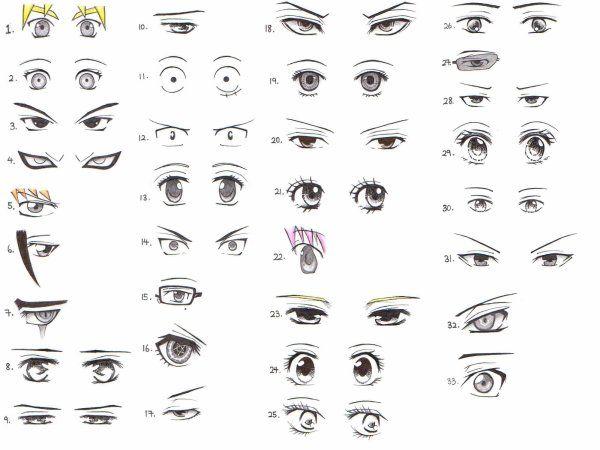 17 meilleures id es propos de le maquillage des yeux d 39 anime sur pinterest maquillage d. Black Bedroom Furniture Sets. Home Design Ideas