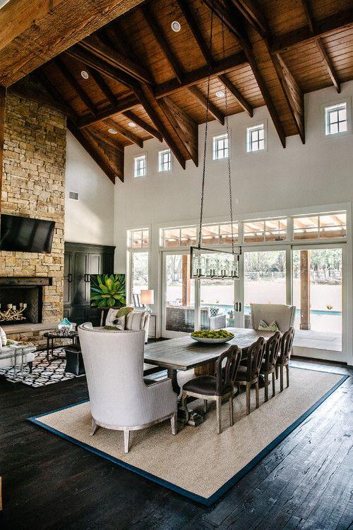 Barton Creek residence, Austin. Via Schroeder Flooring.