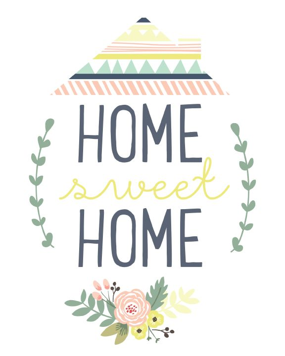 Home Sweet Home Printable - Falala Designs